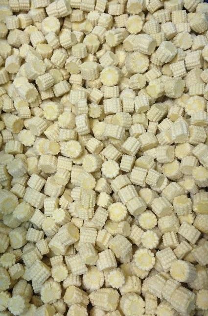 Kukuřice mini klasy řezy