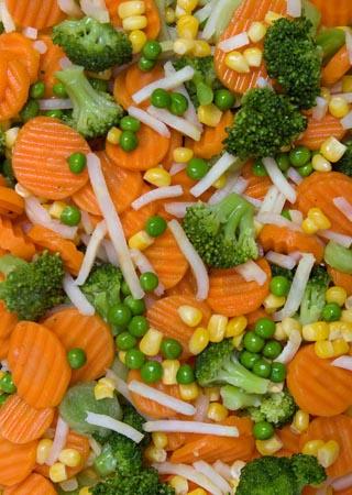 Zeleninová směs s brokolicí